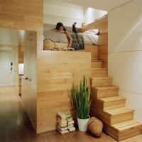 Rangement d'escalier intelligent