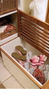 Mud room idee genial